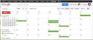 August HaP Calendar