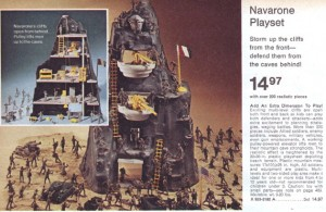 The Marx Toys play set was not released until the mid-1970s.