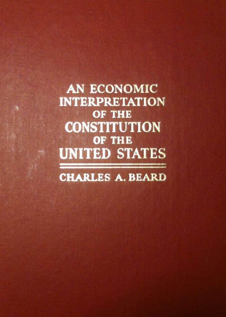 framing the constitution by charles beard thesis