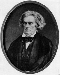 John C. Calhoun - c. 1849 Mathew Brady - Credit: National Gallery