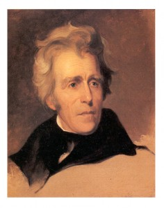 Andrew Jackson, c. 1845 by Thomas Sully Credit: National Gallary