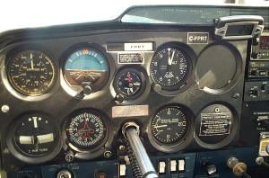 Cessna 150 cockpit