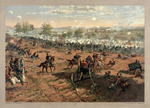 Battle of Gettysburg, Thure de Thulstrup - Source: Library of Congress