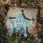 Even in death, GAR members make their presence known in cemeteries.