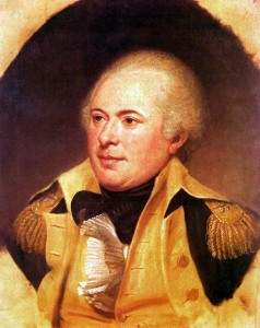 General James Wilkinson, portrait by Charles Wilson Peale