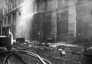 Greene Street bodies and debris