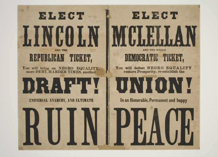 Doubtful of his own reelection, Lincoln arguably prevailed in November due to very recent Union victories in the Deep South. Many voters sensed that a final victory was finally near at hand.