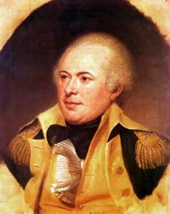 General James Wilkinson, portrait by Charles Wilson Peale